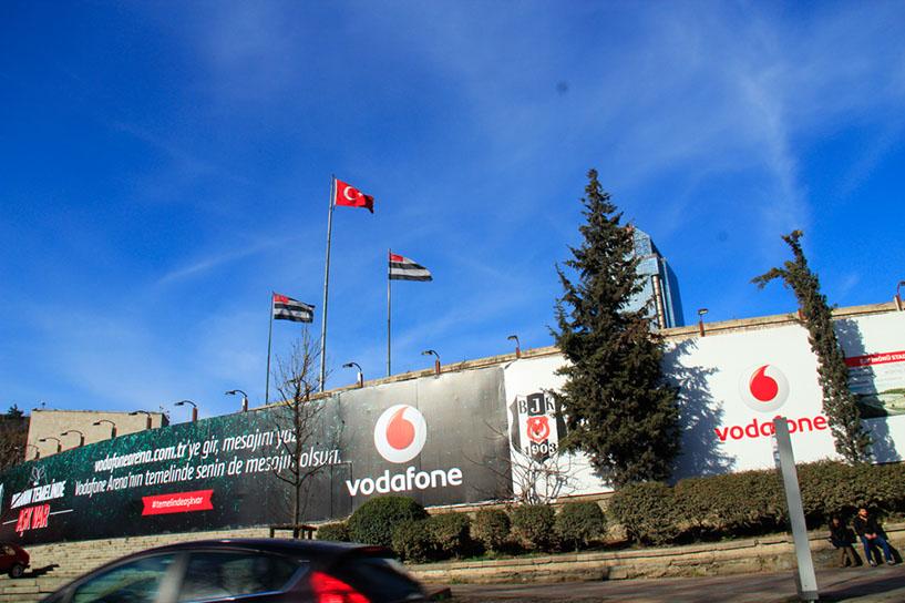 Bjk Yeni Stad Projesinde, Balko Plywood Ürünleri Kullanılıyor