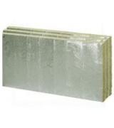 Taş Yünü Alüminyum Folyolu Dış Cephe Levhası (10cm) (50 kg/m3)