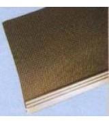 Fileli PVC Delikli Köşe Profili 2.5m